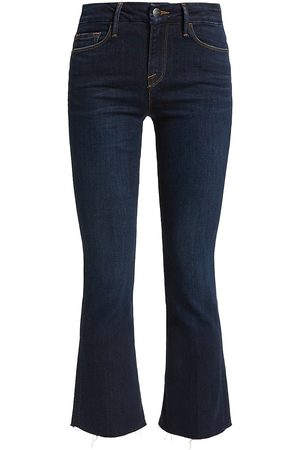 Frame Women's Le Crop Mini Boot Cut Jeans - Remsen - Size 28