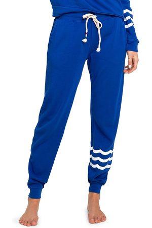 SOL ANGELES Women's Essential Fleece Joggers - Cobalt - Size XL