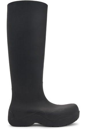 Bottega Veneta Men Rain Boots - Men's Puddle Tall Boots - - Size 12