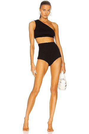 Bottega Veneta Crinkle Bikini Set in