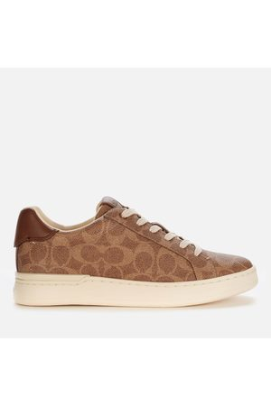 Coach Women's Lowline Coated Canvas Trainers