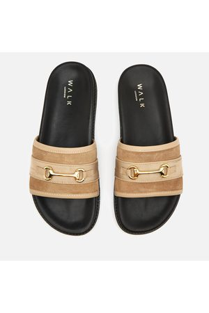 WALK LONDON Men's Ronny Trim Slide Sandals