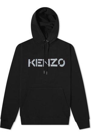 Kenzo Men Hoodies - Bi-Colour Logo Crew Hoody