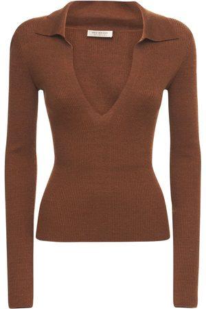 Bec & Bridge Women Polo Shirts - Freya Knit Polo Top