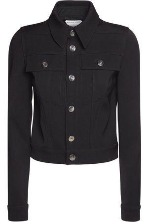 Bottega Veneta Women Jackets - Stretch Double Wool Cavalry Jacket