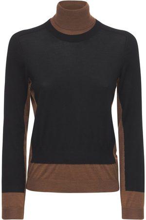 Marni Women Turtlenecks - Wool Knit Turtleneck Sweater