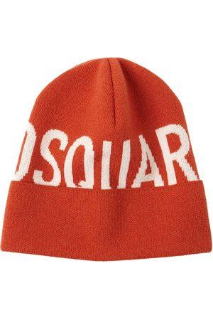 Dsquared2 Women Beanies - Logo Wool Knit Beanie