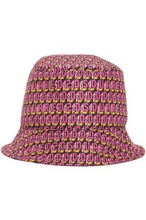 Dsquared2 Monogram Logo Tech Bucket Hat