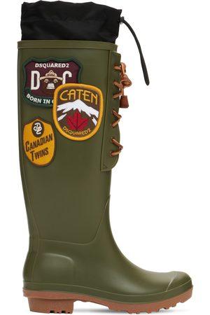Dsquared2 20mm Dook Rubber & Nylon Rain Boots