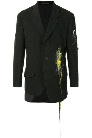 YOHJI YAMAMOTO Men Blazers - Thread-detail blazer