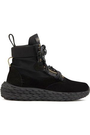 Giuseppe Zanotti Women Sneakers - Urchin high-top panelled sneakers