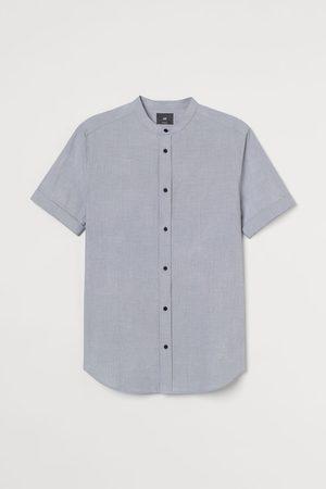H&M Men Short sleeves - Muscle Fit Cotton Shirt