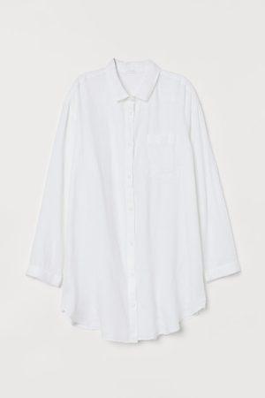 H & M Washed Linen Nightshirt