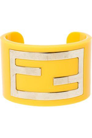 Fendi Resin Zucca Cuff Bracelet