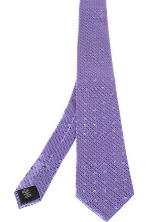Ermenegildo Zegna Patterned Silk Jacquard Tie