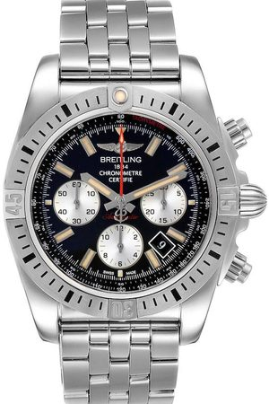 Breitling Stainless Steel Chronomat Airbourne AB0115 Men's Wristwatch 44 MM