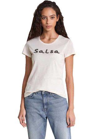 Salsa Women Short Sleeve - Logo In Beads Short Sleeve T-shirt XS
