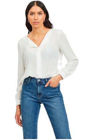 VILA Lucy Long Sleeve Shirt L Snow