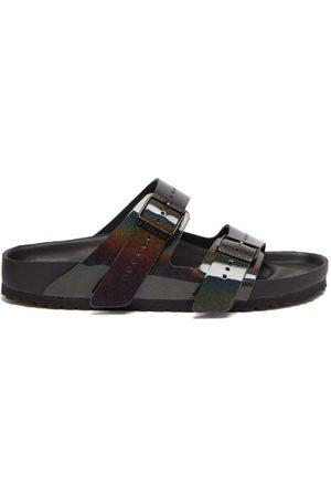 Birkenstock Men Sandals - Arizona Leather Sandals - Mens - Multi