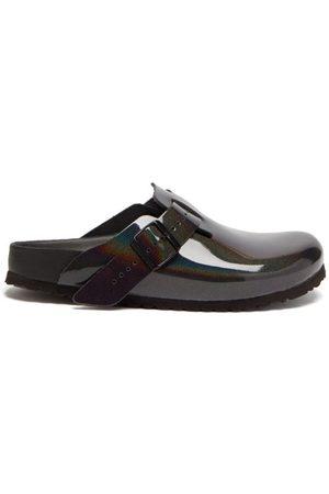 Birkenstock Boston Coated-leather Sandals - Mens - Multi