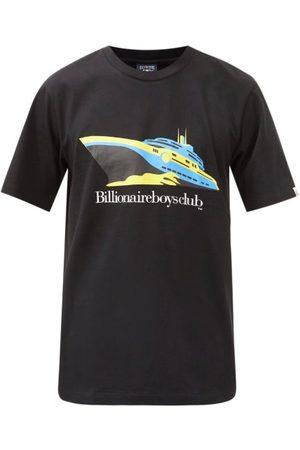 Billionaire Boys Club Yacht-print Cotton-jersey T-shirt - Mens