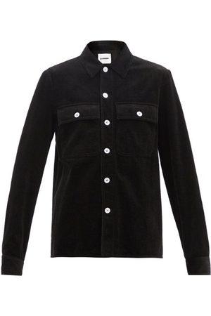 Jil Sander Flap-pocket Cotton-corduroy Shirt - Womens