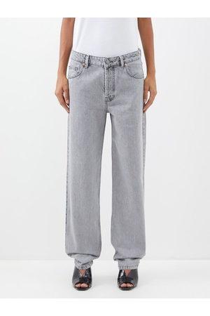 Raey Women Boyfriend Jeans - Opa Organic-cotton Baggy Boyfriend Jeans - Womens - Light Grey