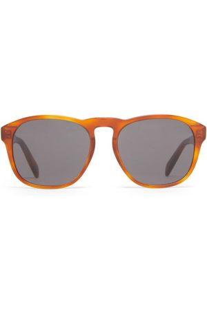 Céline Round Tortoiseshell-acetate Sunglasses - Mens - Tortoiseshell