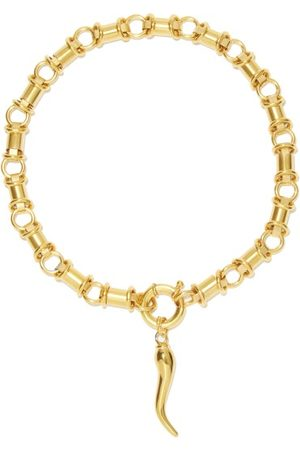 Timeless Pearly 24kt -plated Necklace Set - Womens