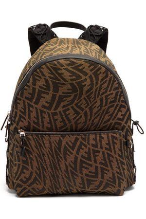 Fendi Ff-vertigo Jacquard Twill Backpack - Mens - Multi