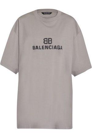 Balenciaga Women Short Sleeve - Boxy T-shirt