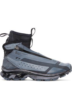 11 BY BORIS BIDJAN SABERI Men Sneakers - Black & Blue Salomon Edition Bamba 3 High Sneakers