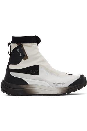11 BY BORIS BIDJAN SABERI Men Sneakers - Off-White & Black Salomon Edition Bamba 2 High Sneakers