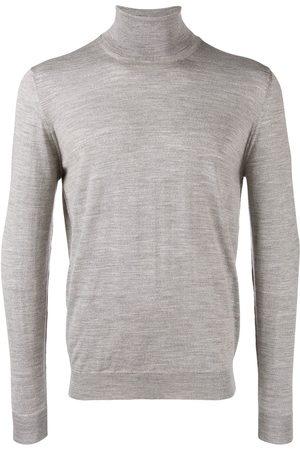 DRUMOHR Knitted roll-neck jumper - Grey