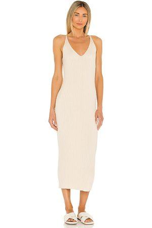 Weekend Stories Lisbeth Dress in Nude.