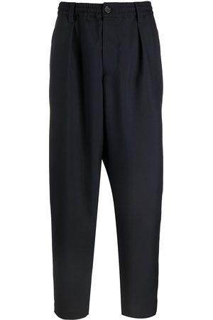 Marni Elasticated waist drop-crotch trousers
