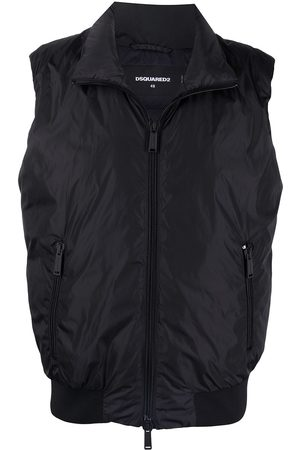 Dsquared2 Men Gilets - Icon zip-up padded gilet