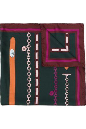 MULBERRY Women Scarves - Bayswater silk twill scarf