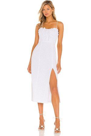 MAJORELLE Harper Midi Dress in .