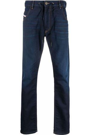 Diesel Men Tapered - Krooley tapered drawstring jeans