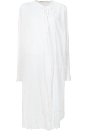 FORME D'EXPRESSION Tie-front long shirt