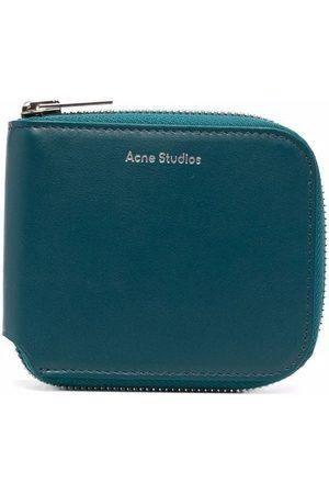 Acne Studios Compact bi-fold zipped wallet