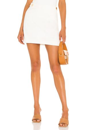 Milly Modern Cady Mini Skirt in .