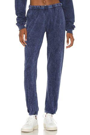 Michael Lauren Women Sweatpants - Nate Crop Sweatpants in Navy.