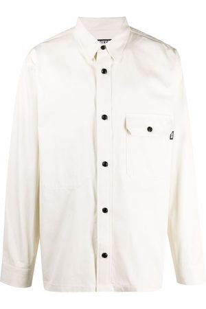 Diesel Button front twill overshirt
