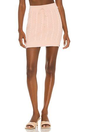 Lovers + Friends Rylan Drawstring Mini Skirt in .