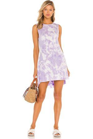 Michael Lauren Women Sleeveless Dresses - Gilly Sleeveless Dress in Lavender.