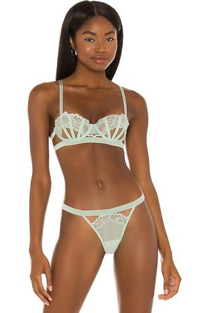 Thistle and Spire Sidney Bra in Mint.