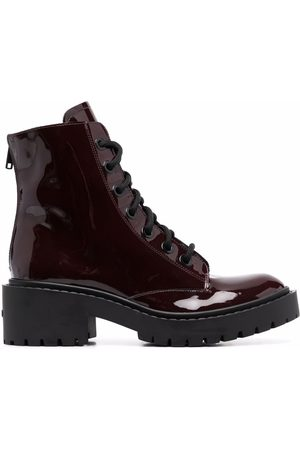 Kenzo Pike lace-up ankle boots