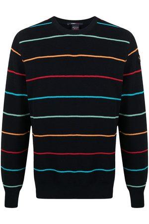 Paul & Shark Rainbow stripe jumper